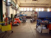 View of drilling and welding department